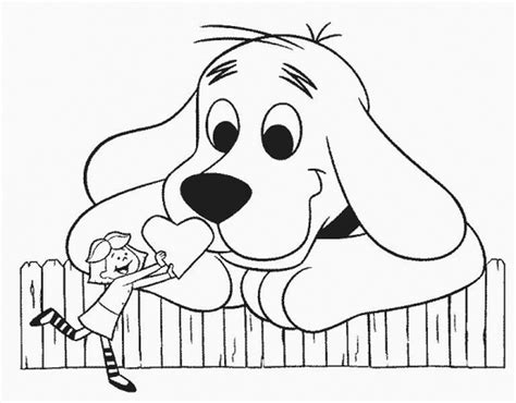 Download Coloring Pages Clifford Coloring Pages Clifford Clifford The Big Coloring Page