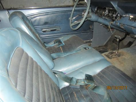 1966 mustang bench seat 1966 mustang 6 cyl auto trans rare bench seat for sale
