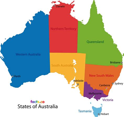 map of australia with states map australia map3