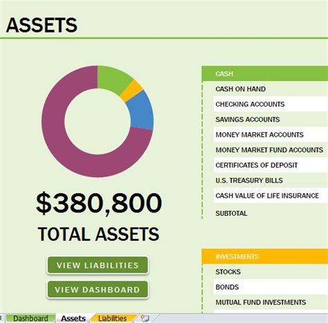 excel net worth template well designed balance sheet template for
