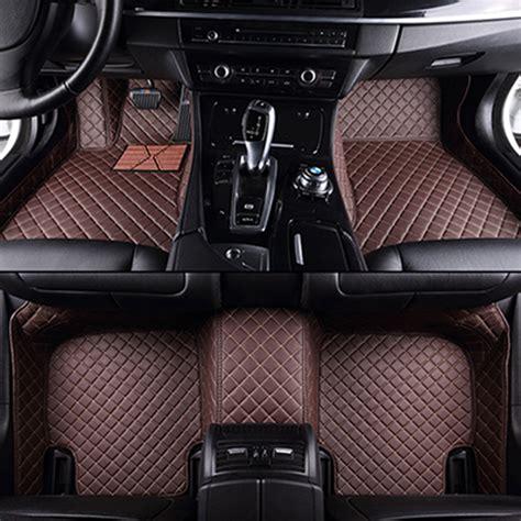 Audi S4 Floor Mats by Custom Car Floor Mats For Audi A6l R8 Q3 Q5 Q7 S4 Rs Tt