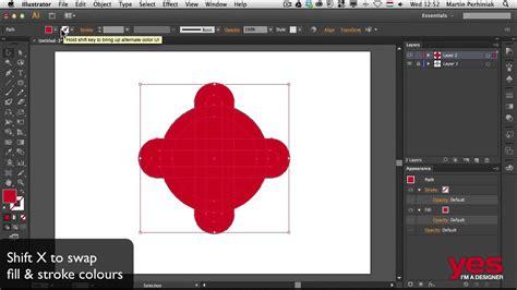 illustrator tutorial merge shapes combining shapes in illustrator youtube
