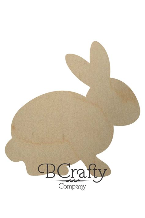 woodworking rabbit wooden rabbit cutout wood rabbit cut out easter rabbit