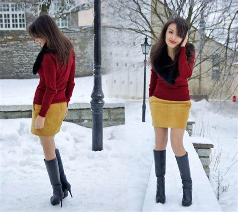 Zara Sweater Velvet lucine a zara sweater h m velvet skirt charles keith
