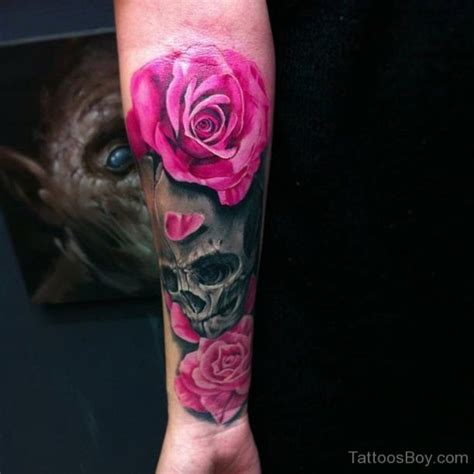 skull wrist tattoo 34 awesome wrist flower tattoos
