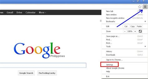 remove claro search as home page in the chrome