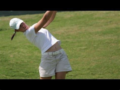 step swing 48 best images about pro women golfers swing videos on