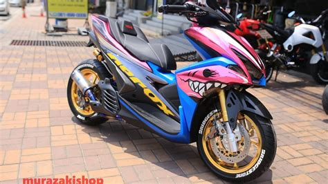 Aerox 155 Modif by Yamaha Nvx 155 Aerox 155 Modification