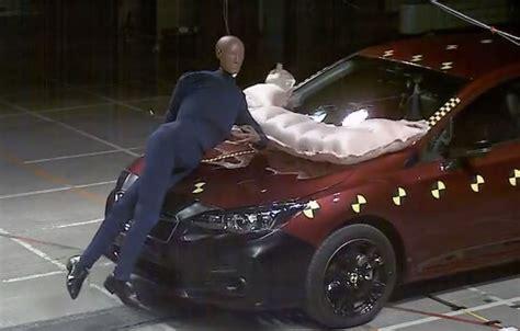 subaru impreza  standard pedestrian airbag