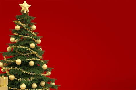 imagenes sin fondo navidad 193 rbol festivo de navidad en fondo rojo 73567
