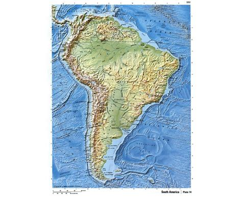 topographical map of south america maps of south america and south american countries