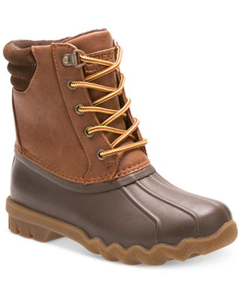 macy s duck boots sperry avenue duck boots boys or boys shoes