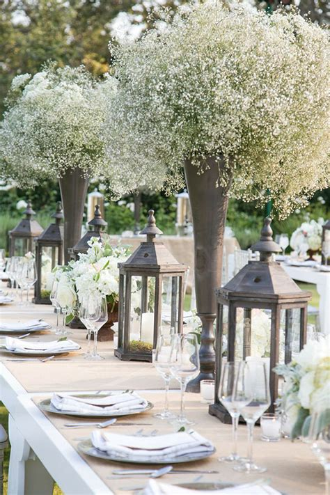 Country Chic Wedding Decor by Wedding Flowers 40 Ideas To Use Baby S Breath