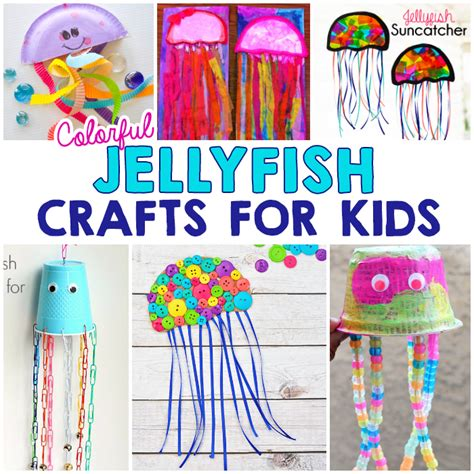 arts n crafts for colorful jellyfish crafts for i arts n crafts