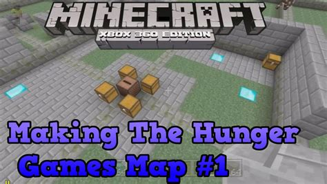 minecraft hunger games themes ideas minecraft xbox 360 creative making the hunger games map