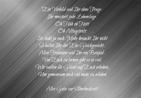 Deko Gläser Hochzeit by Spr 252 Che Silberhochzeit Freunde Marketingfinest