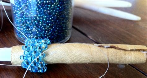 how to bead an eagle feather beading eagle feather make something every day