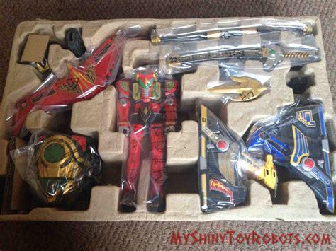 Legacy Megazord my shiny robots toybox review power rangers legacy