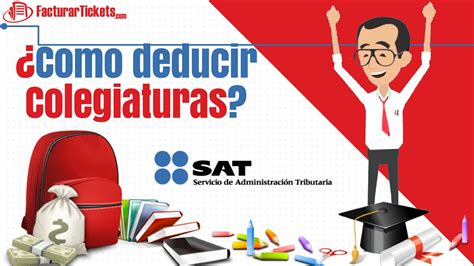deduccion de colegiaturas de nietos 2016 sat como deducir colegiaturas