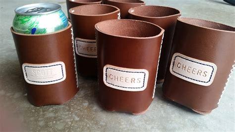 Handmade Koozies - strittmatter handmade leather koozie