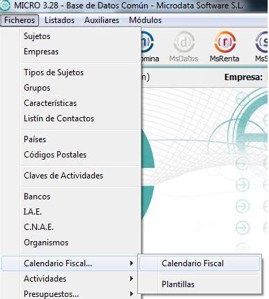Generar Calendario Como Configurar Y Generar El Calendario Fiscal De Mis