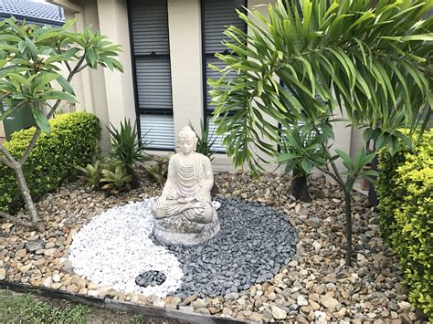 yin yang garten yin yang garden design with buddha garden