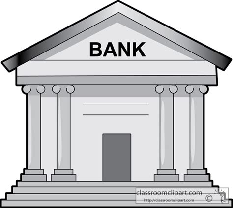 d bank banking banks clipart 44