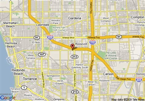 map of torrance california map of courtyard by marriott torrance south bay torrance