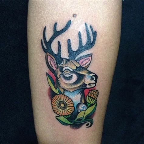 500 bucks meaning 140 attractive deer tattoos and meanings 2017 collection