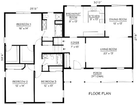 Split Level Home Floor Plans by Split Level Floorplans House Design