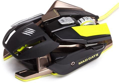 Mad Catz R A T Pro X Gaming Mouse mad catz r a t pro x gaming mouse pixart 9800 black green