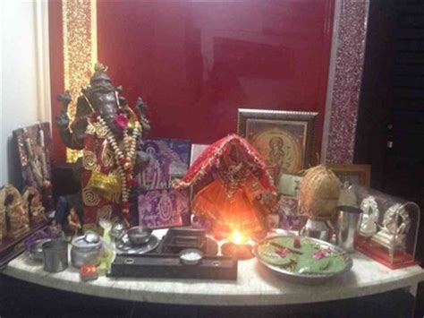 temple decoration ideas for home navratri home decoration ideas mandir d 233 cor images