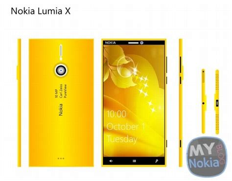 Nokia Lumia X by Nokia Lumia X Windows Phone Concept Is All Gold And