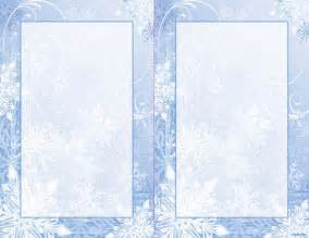 winter templates winter 2up invitations w envelopes 5