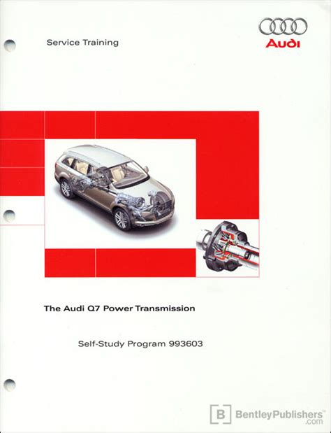 online car repair manuals free 2011 audi q7 electronic valve timing front cover the audi q7 power transmission self study program bentley publishers repair