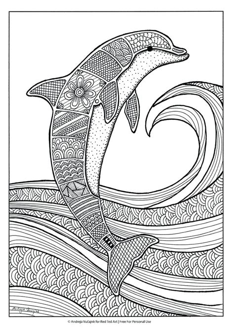 Island Of The Blue Dolphins Coloring Page