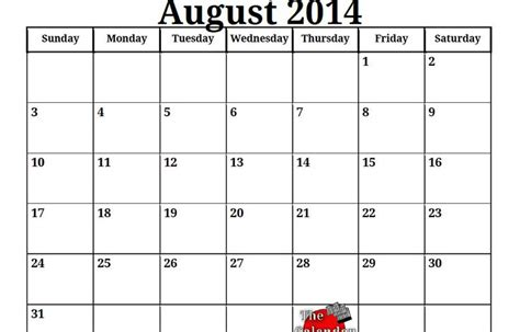 august 2014 calendar template 27 best ideas about august 2014 calendar on