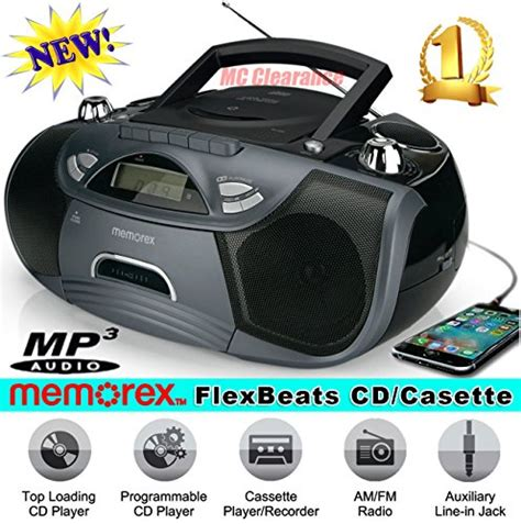 best cd player boombox top 5 best selling cd and cassette player boombox with