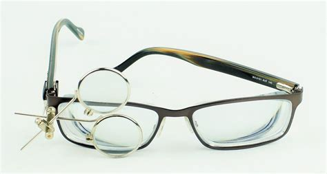 jewelers 3x clip on eye loupe for glasses goggles