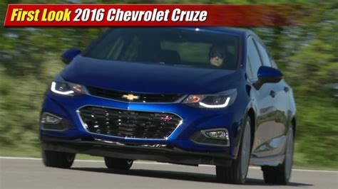 coverlet cruze first look 2016 chevrolet cruze testdriven tv