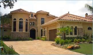 Mediteranian House Plans by Style House Exterior Style House Plans