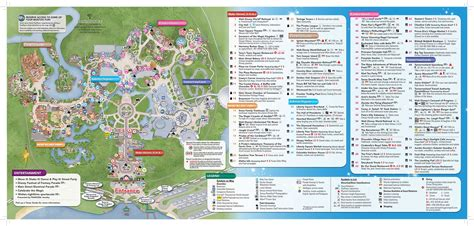 map of disney world mousehints