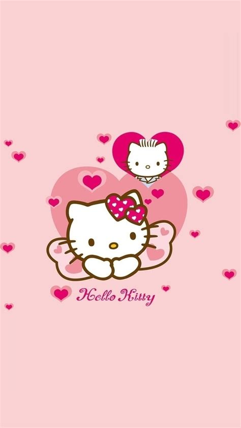wallpaper hello kitty pink for iphone cute hello kitty iphone 5 wallpapers top iphone 5