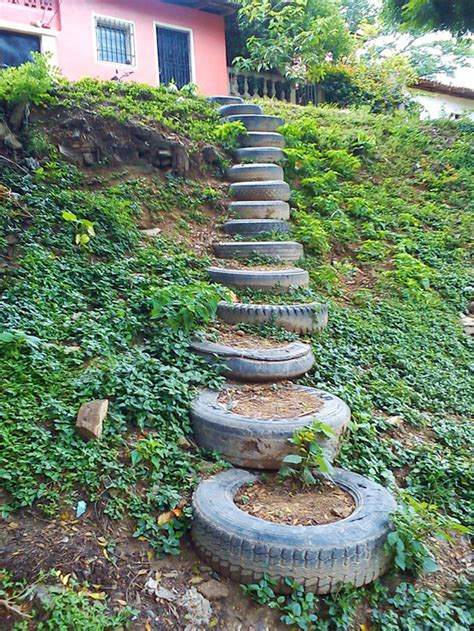 Tire Garden by 21 Genius Diy Ways To Reuse And Recycle Tires