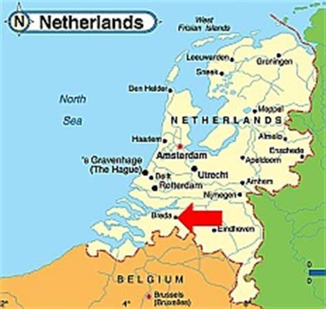 breda netherlands map expeditie robinson 11 belgium netherlands