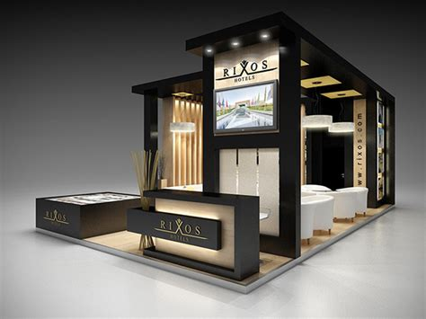 aesthetic and timeless centre module design for home rixos sharm el sheikh at wtm 2014 exhibition on behance