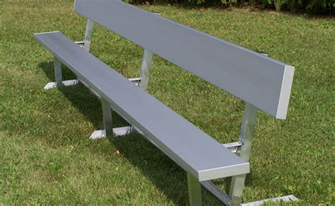 picnic table bench legs benches with aluminum legs national recreation systems
