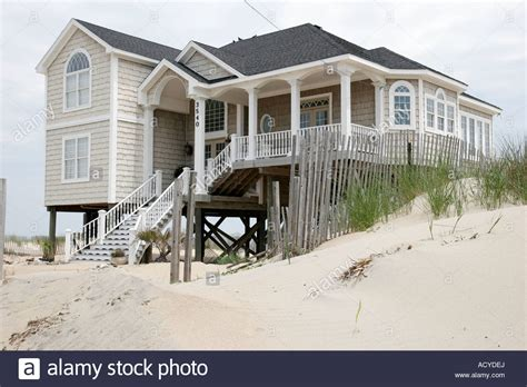 buy house virginia beach virginia beach virginia sandbridge beach house cottage rental sand stock photo