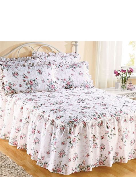Quilted Fitted Bedspread by Garden Quilted Fitted Bedspread Home Bedroom