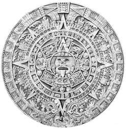 aztec calendar photograph by science source